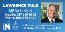Lawrence Yule MP